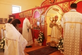 Богослужение на Фомино Воскресенье 13