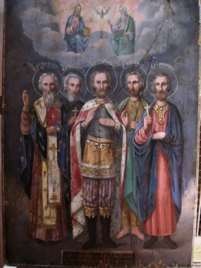 Святые мученики Поликарп, Преподобный Иосиф Песнописец и др.