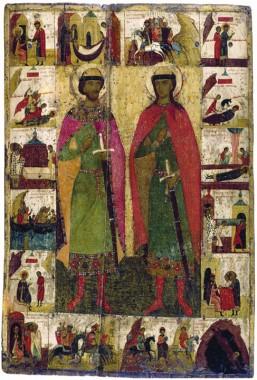 Борис и Глеб, благоверные князья