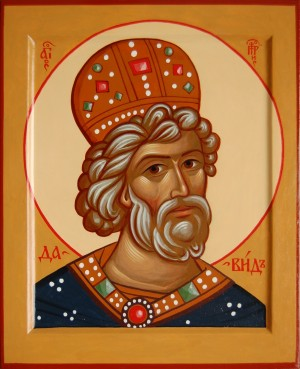 Икона святого царя и пророка Давида. petr-icons.ru