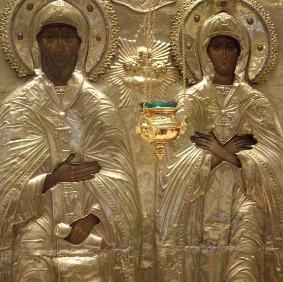 Cвятые благоверные князь Петр и княгиня Феврония