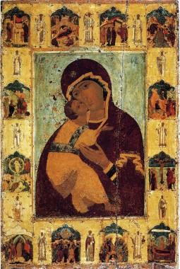 Богоматерь Владимирская, 12 век