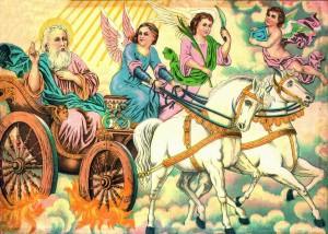 Илия пророк на колеснице