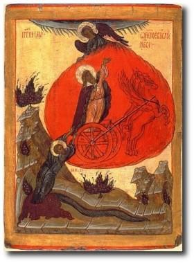 Восхождении Илии на небо