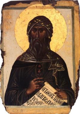 Иоанн Дамаскин (ок. 675–753), крупнейший богослов и гимнограф