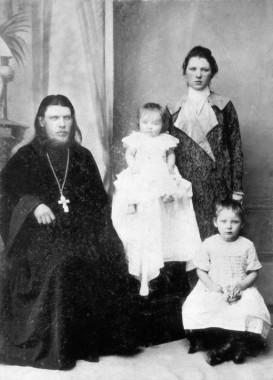 Священномученик Тихон и исповедница Хиония Архангельские