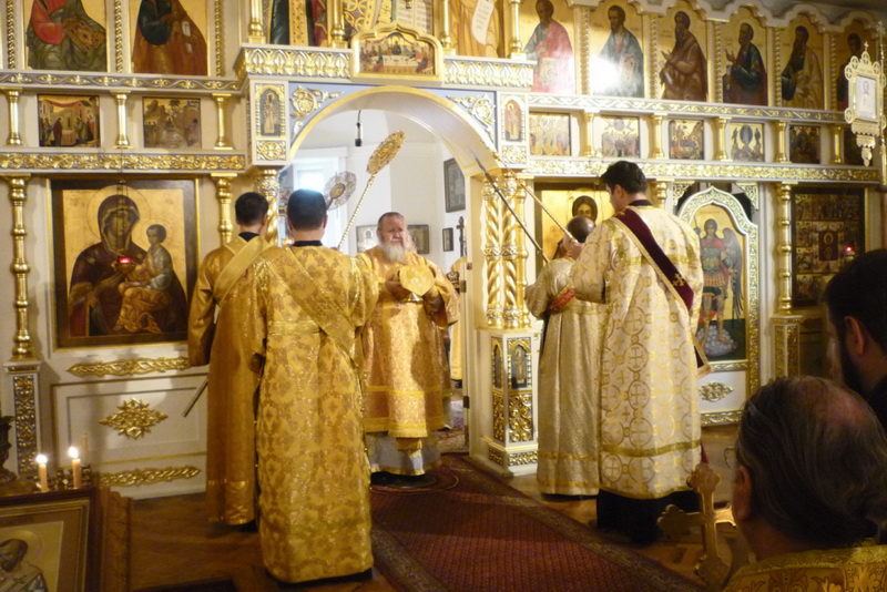 День Ангела митрополита Илариона 3.11.2010