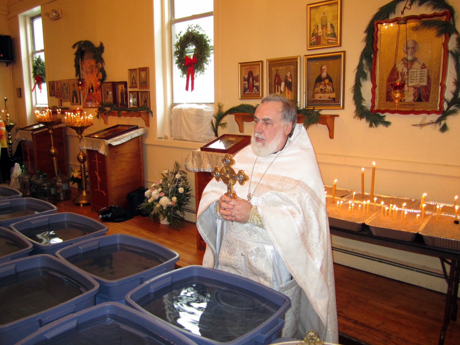 Крещение Господне, 2011