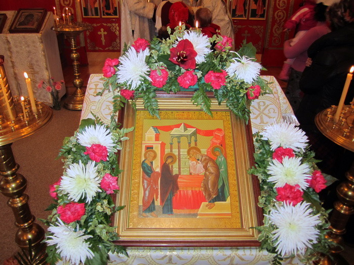 Праздничное Богослужение на Сретение Господне, 15.2.2011