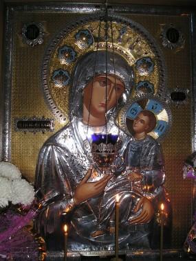 Иверская икона Пресвятой Богородицы
