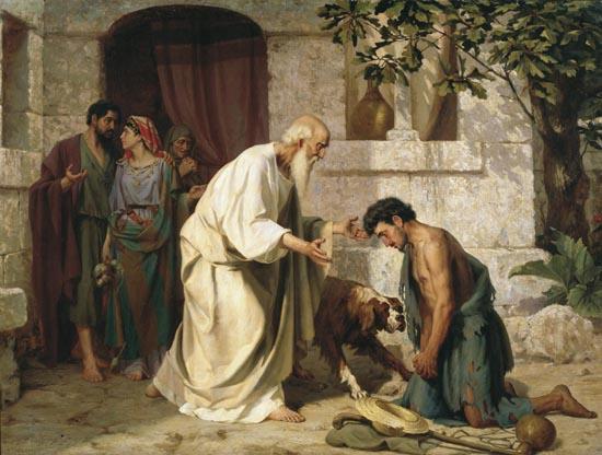 Возвращение блудного сына. Н.Д.Лосев (19 век)