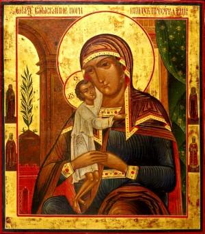 Икона Богоматери Взыскание Погибших