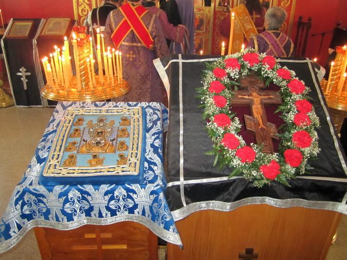 Архиерейская Литургия и Соборование, 27.03.2011