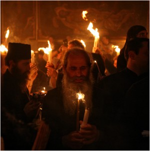 Схождение Благодатного Огня, 2011
