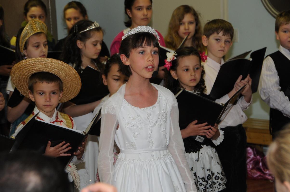 Празднование Светлого Христова Воскресения в детской воскресной школе, 30.04.2011