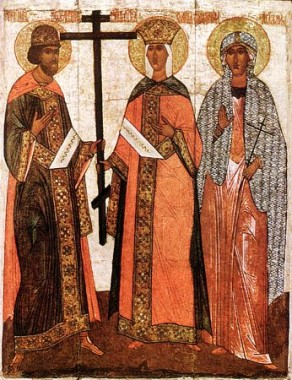 Святые Константин, Елена и Агафия