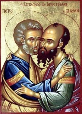Святы апостолы Петр и Павел, проповедники Любви и покаяния