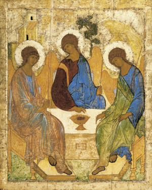 Святая Троица. Прп. Андрей Рублев
