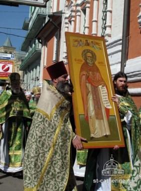 Икона святого Алексия Мечева