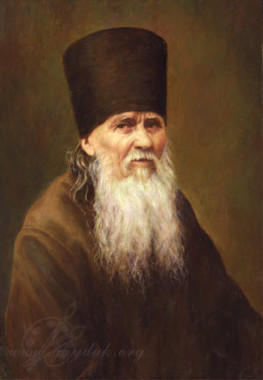 Портрет преподобного Амвросия Оптинского