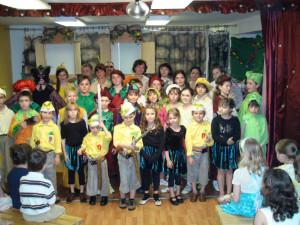 Театр при Воскресной Школе: спектакль Чиполлино