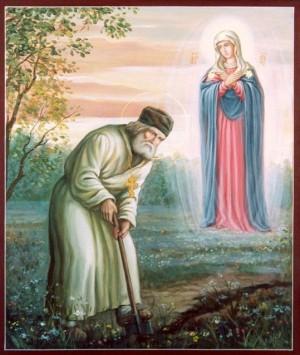 Явление Матери Божией преподобному Серафиму