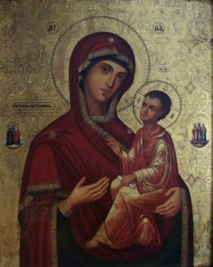 Образ Божией Матери Тихвинская