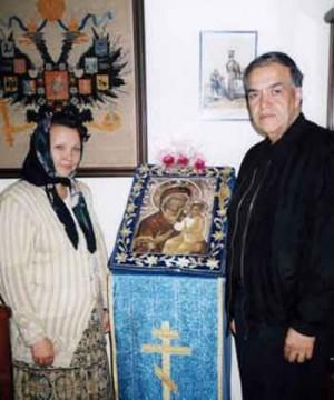 Иосиф Муньос с Татьяной Филипьевой