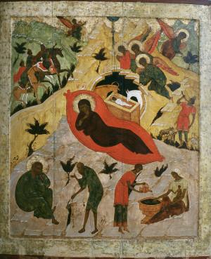 Рождество Христово. Середина XVI в.