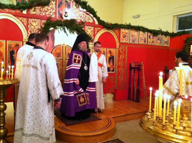 Праздничное Рождественское Богослужение, 6-7 Jan 2012