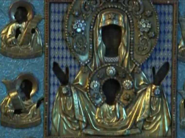 """Курско-Коренная чудотворная икона Божией Матери """"Знамение"""""""