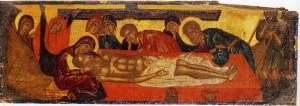 Положение Господа во гроб (XVI в.) Хора Наксис