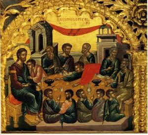 Тайная вечеря (1535-45) Монастырь Ивиерон