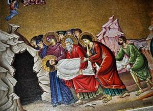 Снятие со Креста Тела Спасителя Иосифом и Никодимом