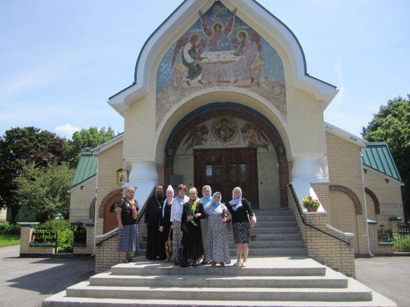Паломничество в Jordanville, Июнь 2012