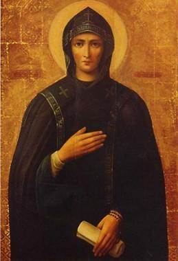 Благоверная княгиня А́нна (в иночестве Евфроси́ния) Кашинская, Тверская, схимонахиня