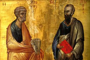 Святые первоверховные апостолы Петр и Павел