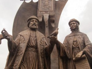 Петр и Феврония, монумент в Екатеринбурге