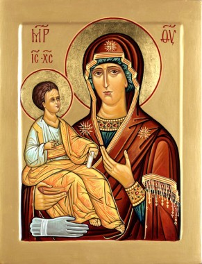Икона Божией Матери именуемая Троеручица