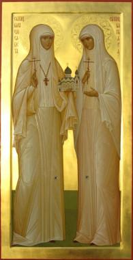 Великая Крнягиня Елизавета и инокиня Варвара