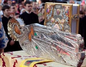 Великая христианская святыня - Плащаница Пресвятой Богородицы
