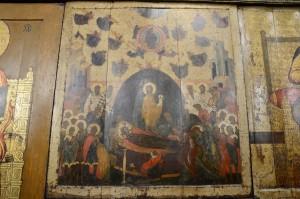 Древний образ Успения Пресвятой Богородицы в Успенском соборе Московского Кремля