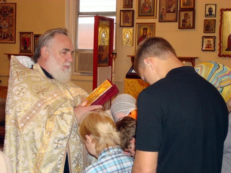 Молебен на начало учебного года, 9.09.2012