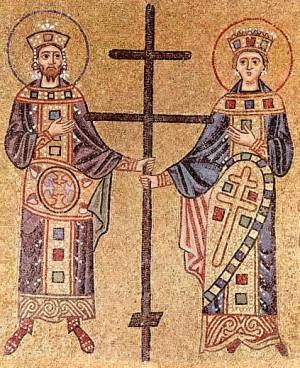 Крестовоздвижение. Святые равноапостольные Константин и Елена