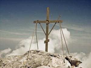 На вершине святой горы Афон