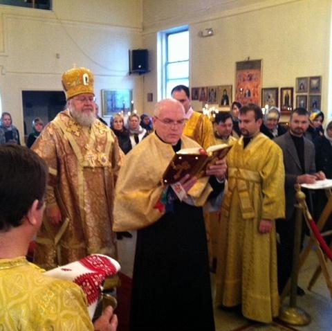 Посвящение во чтецы Александра Шуклина