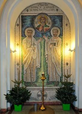 Память Бессребреников и чудотворцев Космы и Дамиана Асийских, и матери их преподобной Феодотии