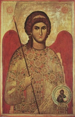 Архистратиг Михаил. Кипр, XV век