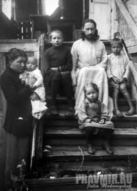 Павел Флоренский с семейством
