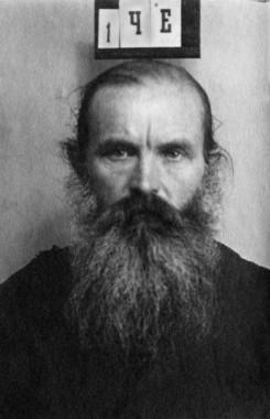 Священник Иоанн Честнов, тюремная фотография, 1930 год. Фото: mozhblag.prihod.ru